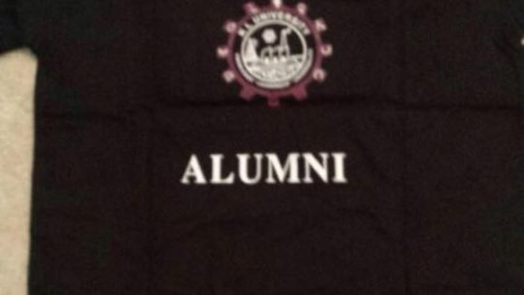 KLU Alumni shirts arrived